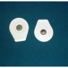 Elettrodi Monouso Ovali In Foam Pregellati Con Gel Solido 32×36 Mm (versione Pediatrica)